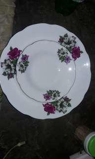 plate bunga kangkung