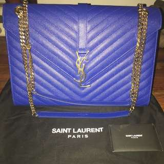 Authentic Ysl 2 Way Flap