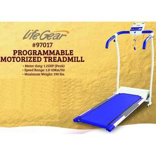 Life Gear Programmable Motorized Treadmill (MINT CONDITION)