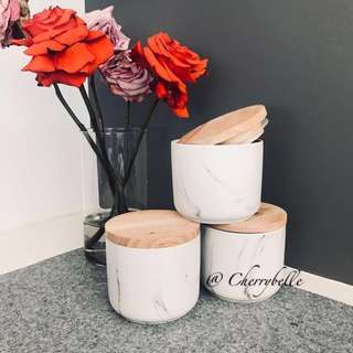 Marble Canisters