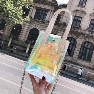 全新 韓款透明袋