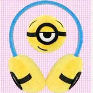 Minions earmuffs 保暖耳罩