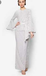 LOOKING FOR LUBNA STRIPES KURUNG