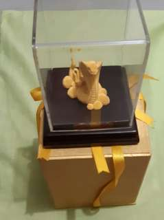 12 Zodiac Golden Snake with warranty card