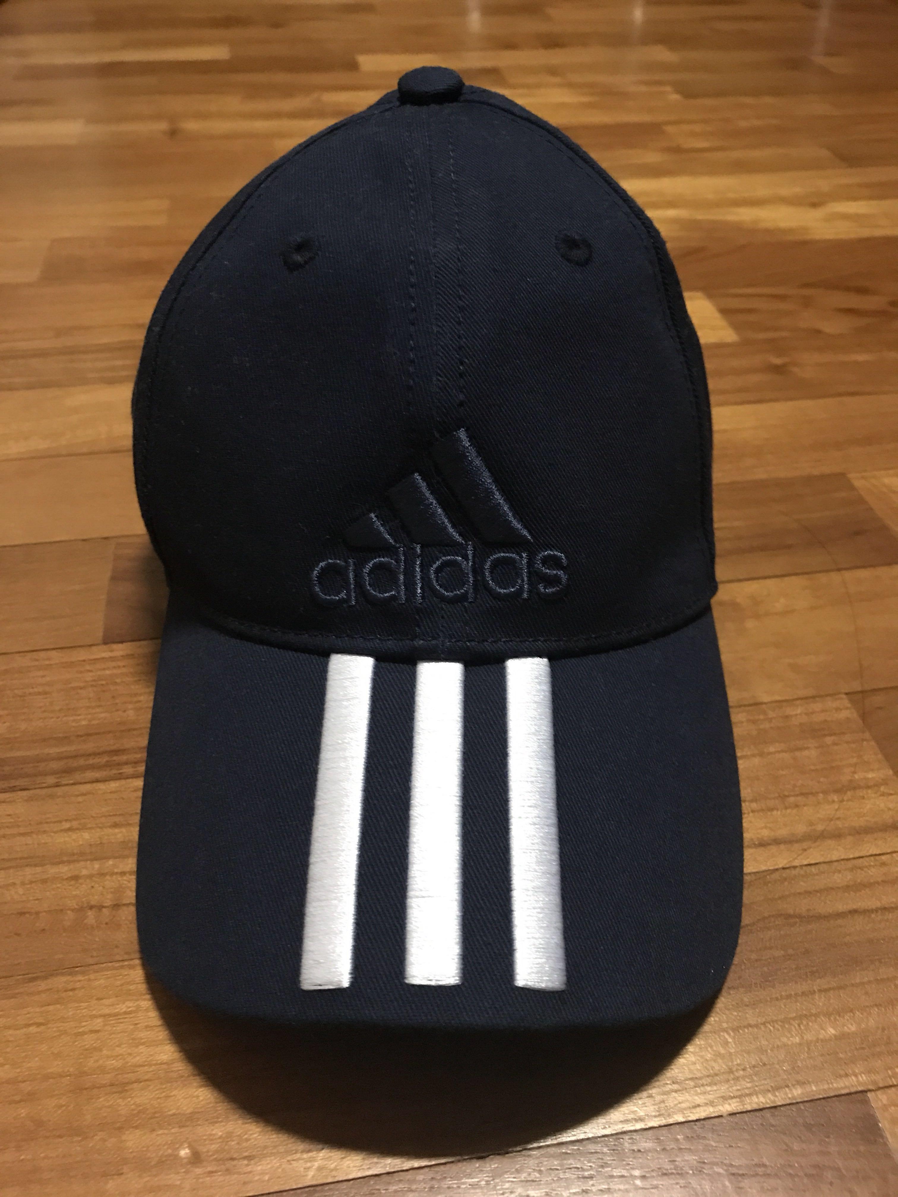 74a7d097fc3a1 Authentic Adidas Cap (Navy Blue)