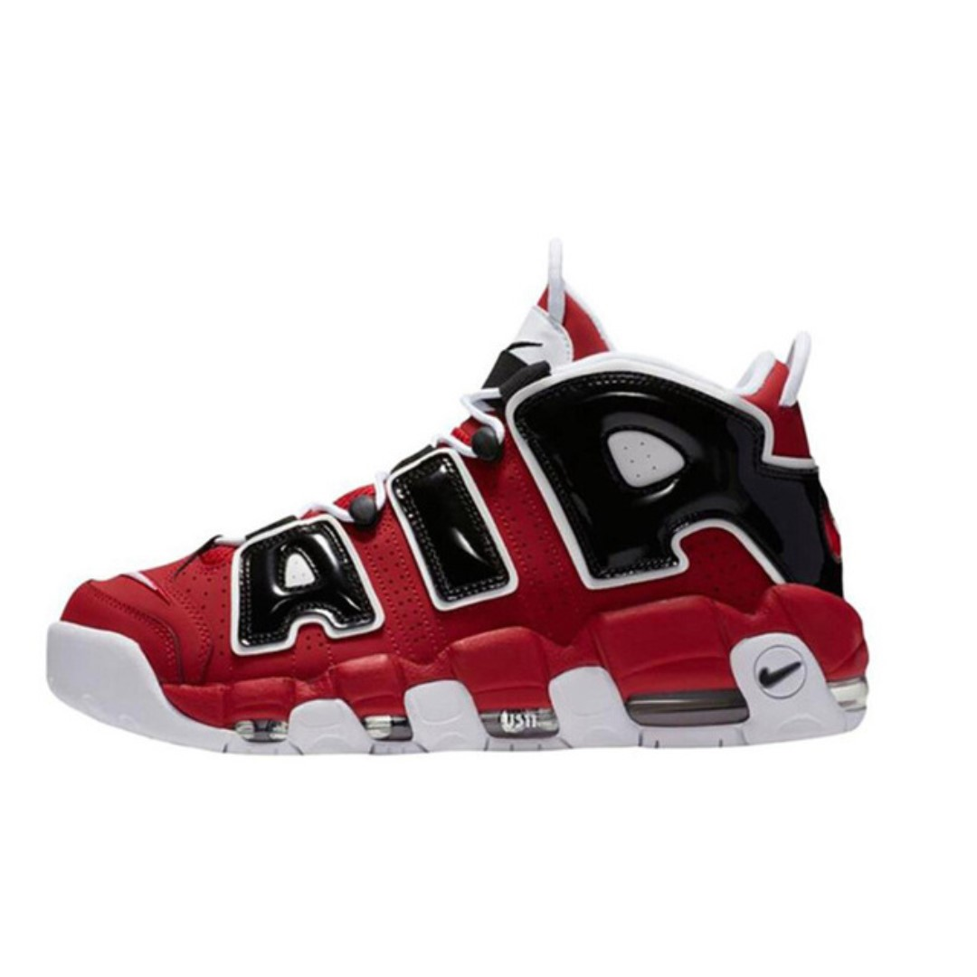 1f12a5bdd614 Authentic Nike Air More Uptempo Tri-Color Men s Breathable ...