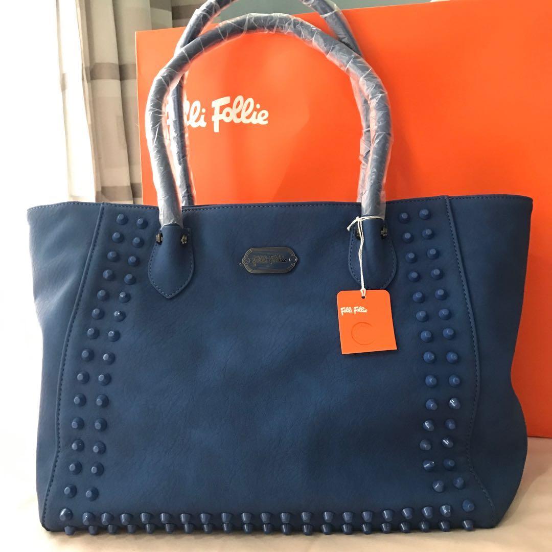 7953e9ca3dd3 Authetic Folli Follie Studded Shoulder Bag Women S Fashion Bags