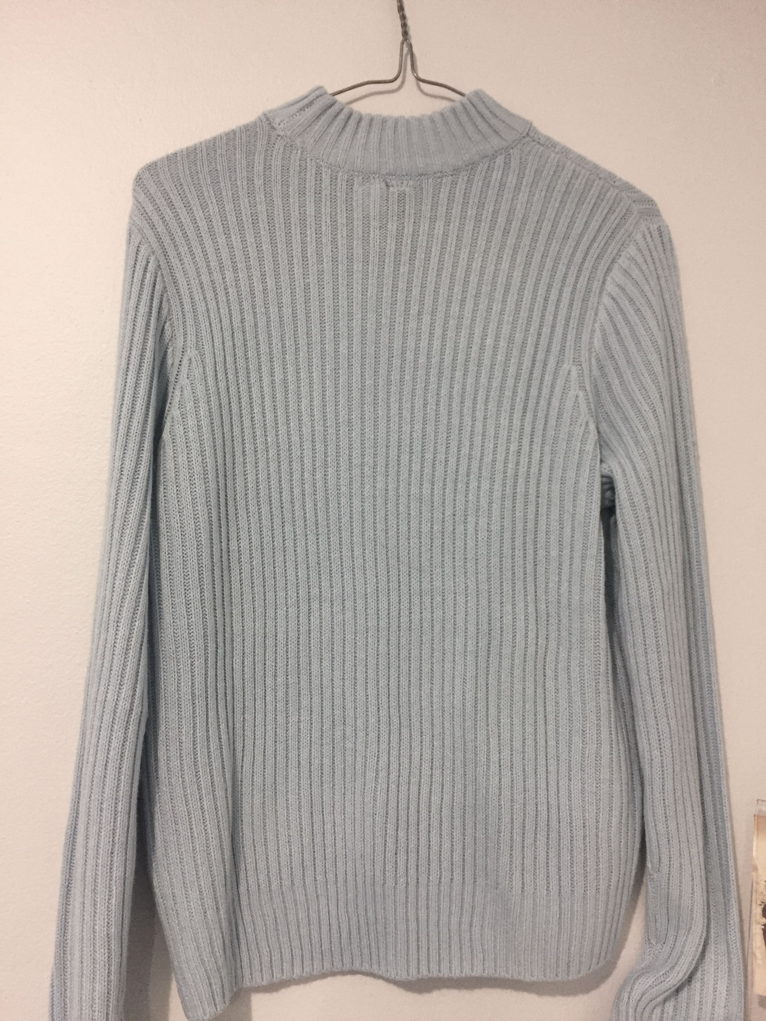 Baby Blue Knit Jumper