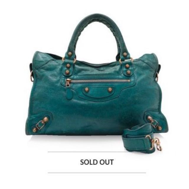 5d8adbfd05 Balenciaga Giant Rose Gold City (Fast deal at $550), Luxury, Bags ...