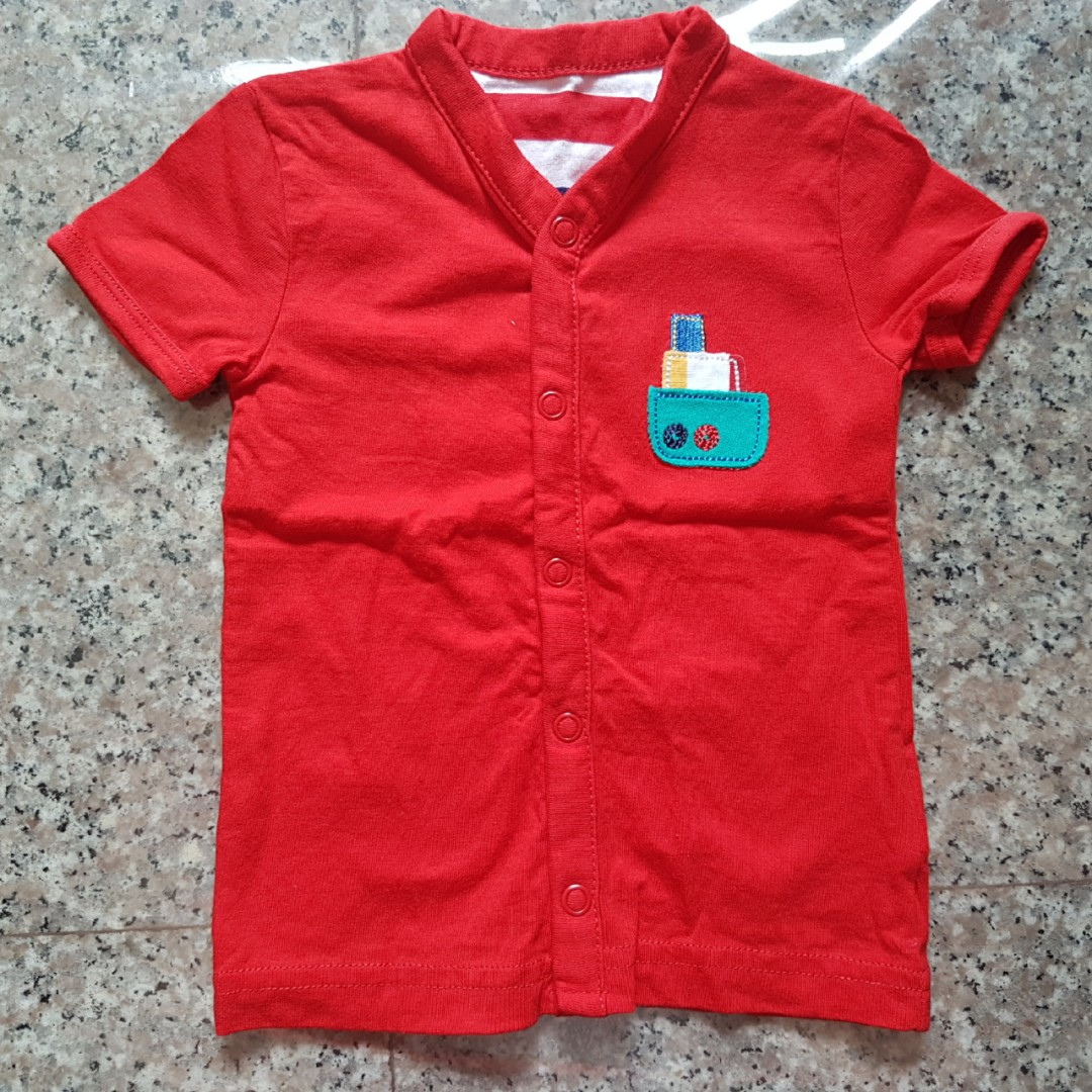 BN Mothercare Baby Red Top 8004db7f2