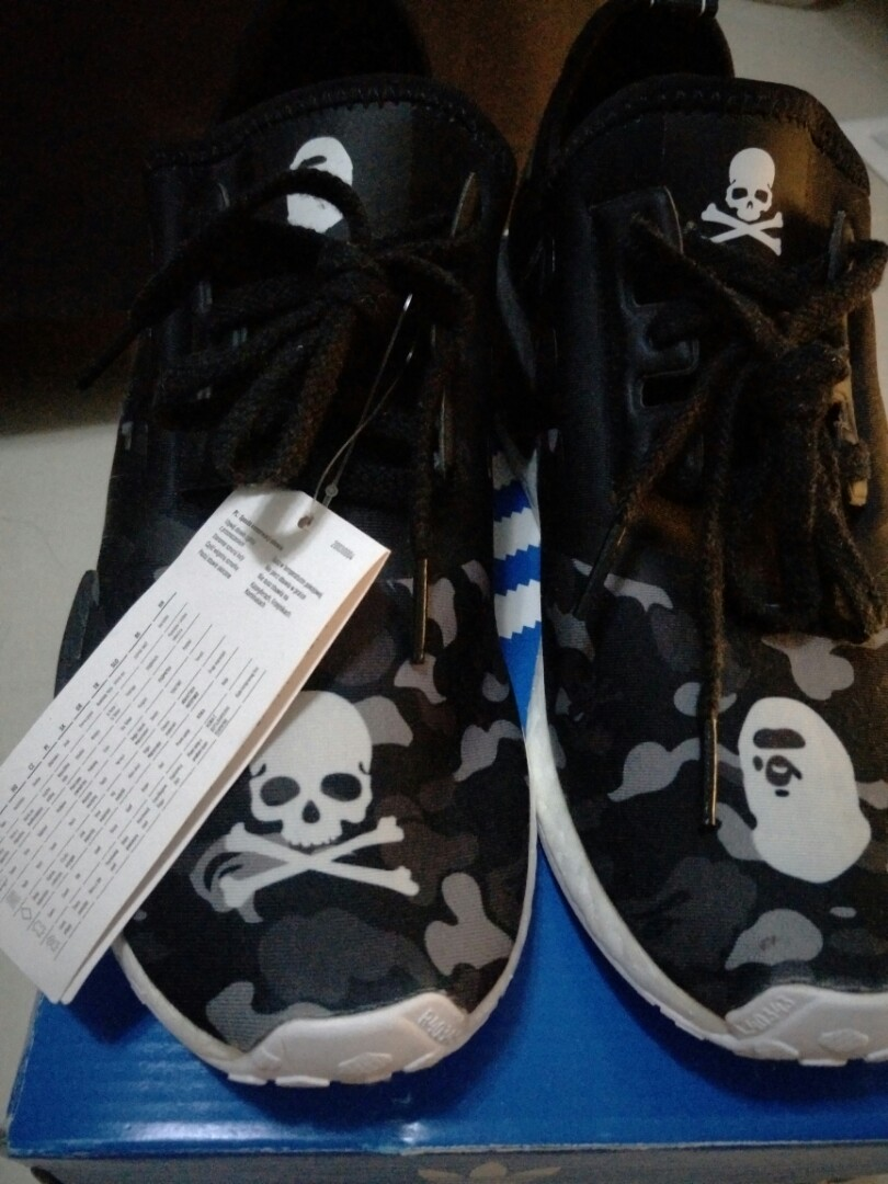 e5c91649b752c Reduced Black Friday BNIB Bape X Adidas NMD