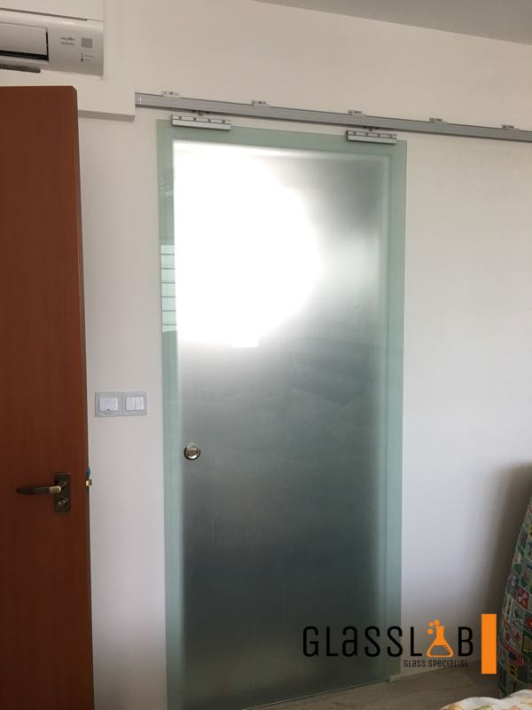 Clear Tempered Glass Sliding Door Furniture Home Decor Others On