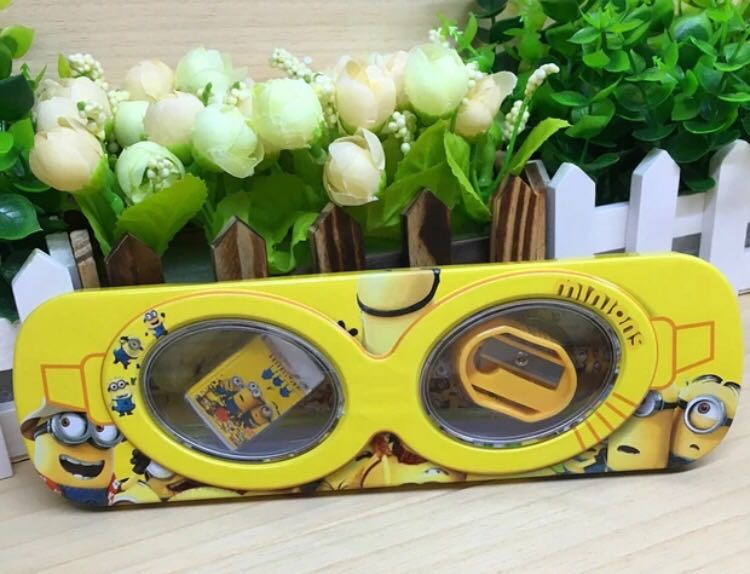 Minion Camera Case : Clearance minion pencil case set books stationery stationery