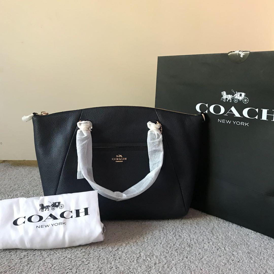 3cb2983931ed Coach Satchel - Prairie Satchel in polished pebble leather