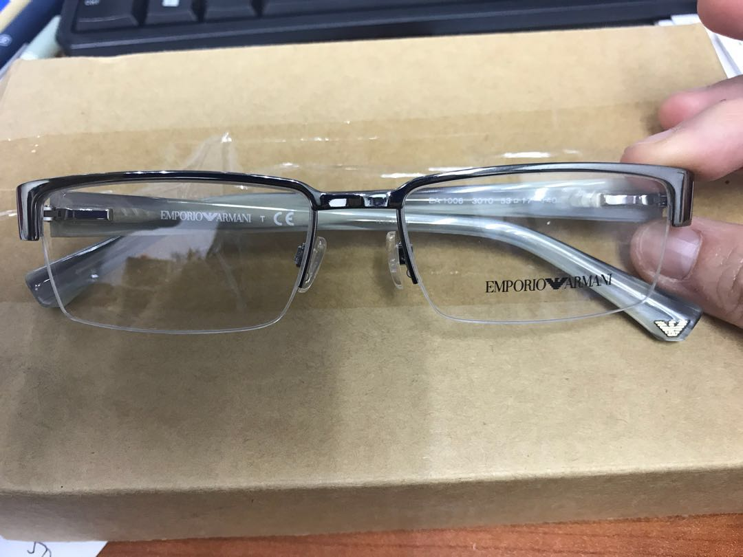71bb21a9d259 Emporio Armani spectacle glasses frame.