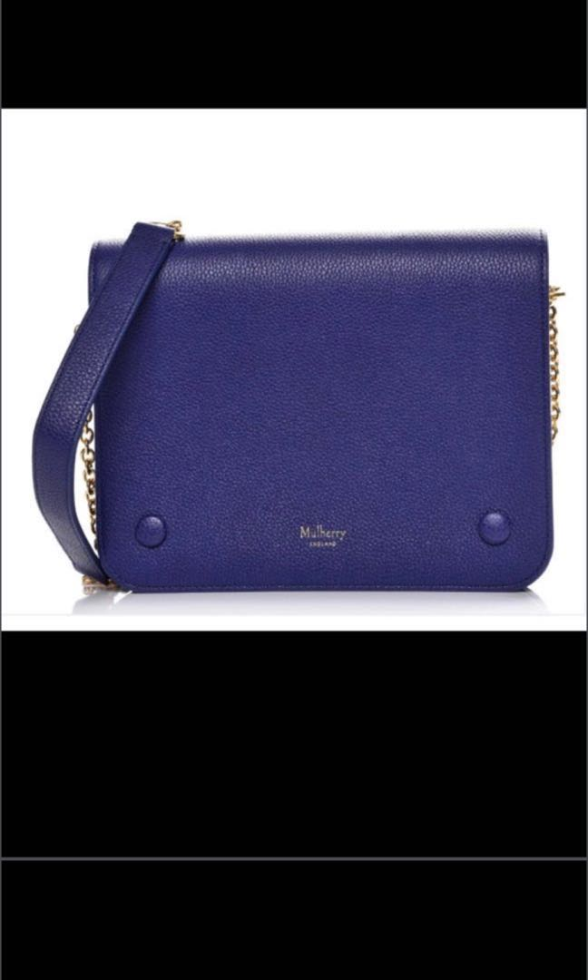 9d23df2cea Flash Sale! Almost New Mulberry Small Clifton in Indigo