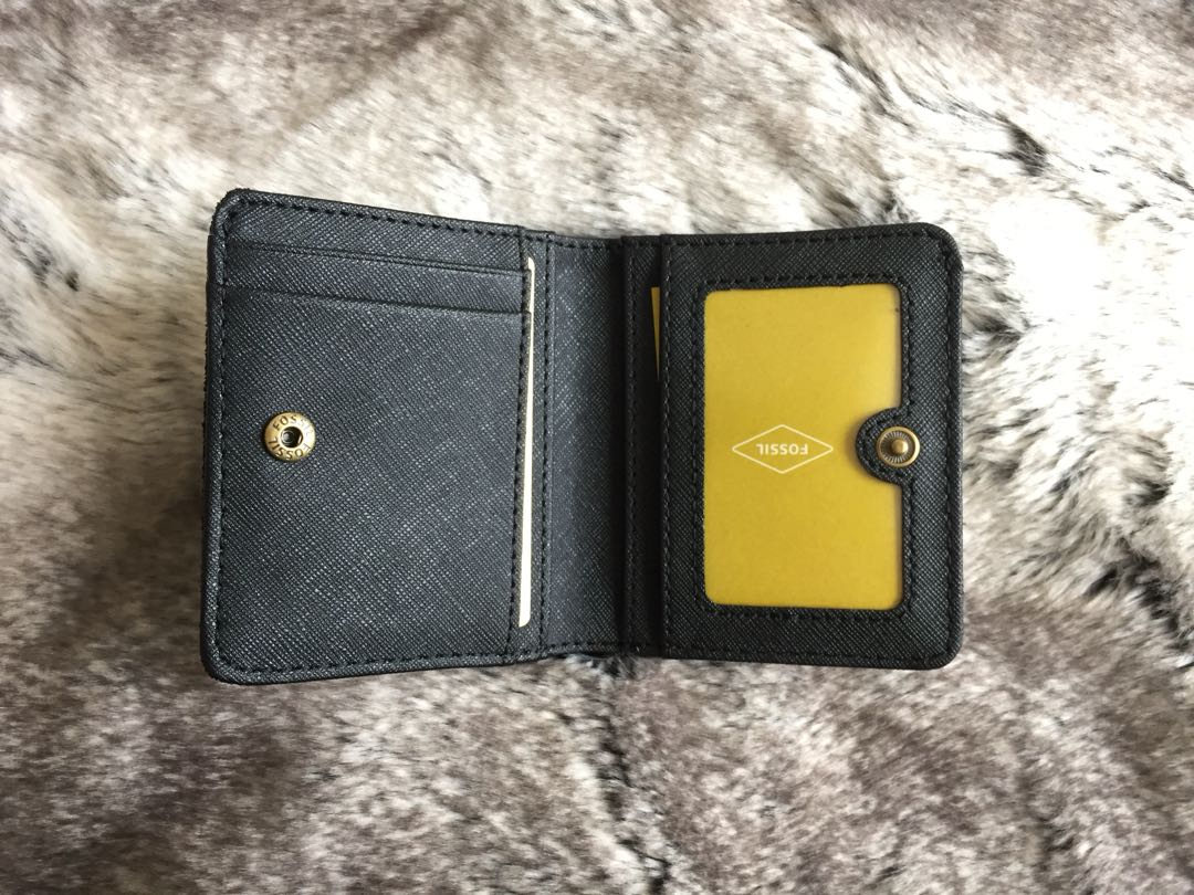 Fossil Madison Bifold Wallet in Pewter