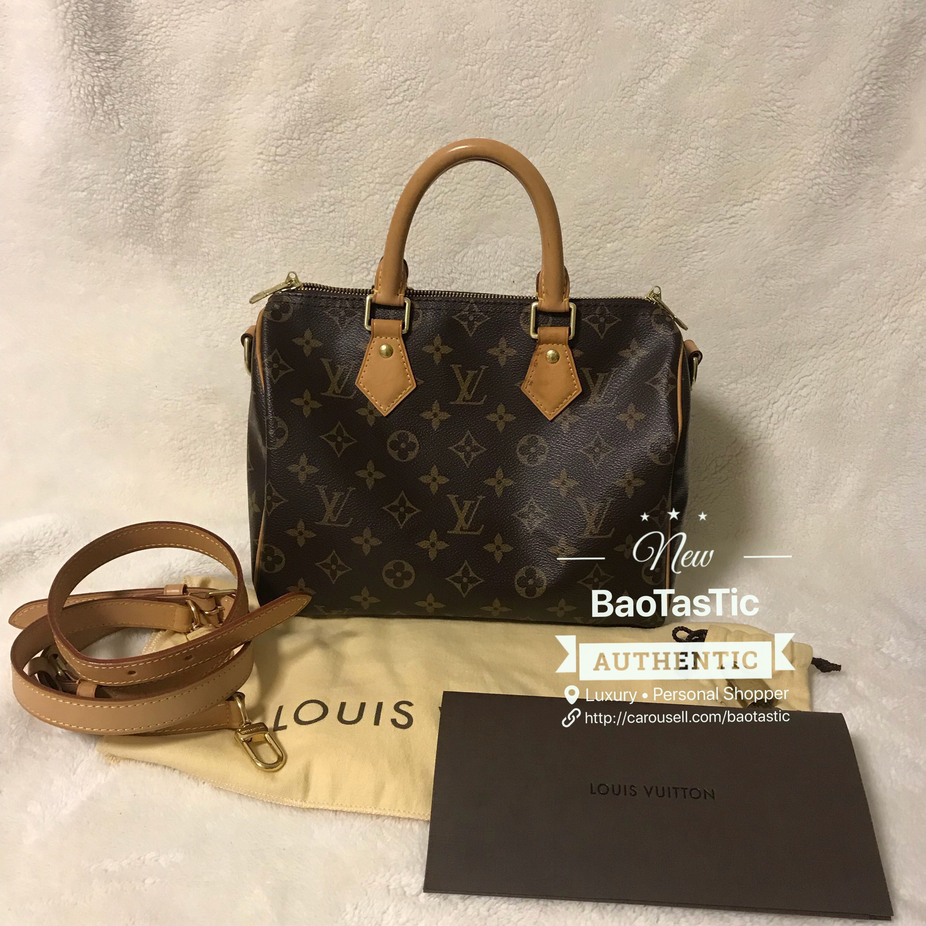 5f153569b1 GOOD PRICE💲 Louis Vuitton Speedy Bandouliere 25 Monogram, Luxury, Bags &  Wallets, Handbags on Carousell