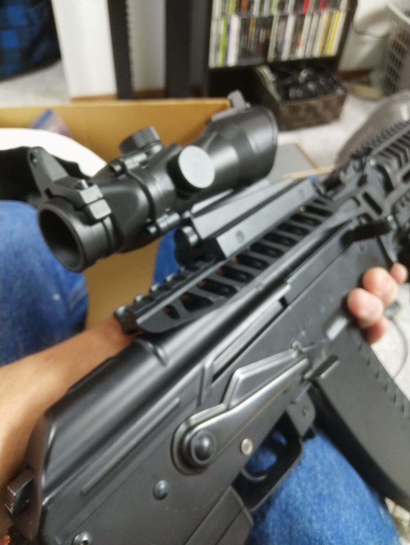 ICS AK-74M AEG airsoft