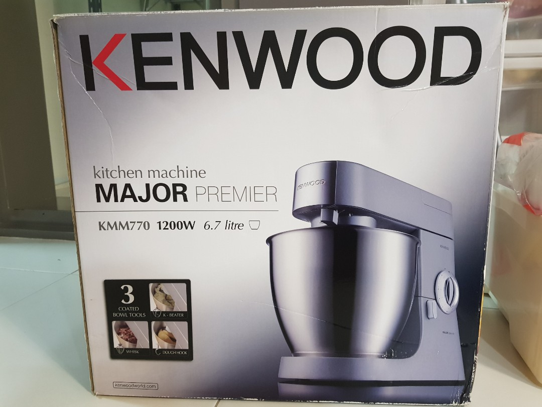 Kenwood Kitchen Machine Cake Bake Mixer Major Premier 600 Sale