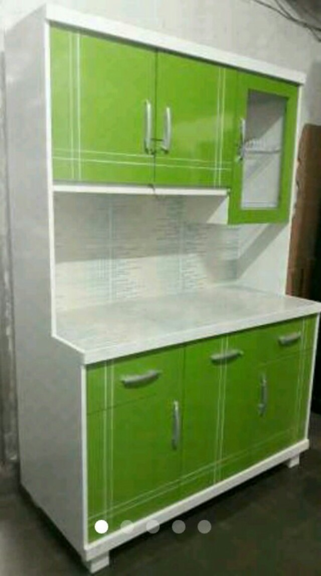 lemari dapur rak piring kayu, Perabotan Rumah di Carousell