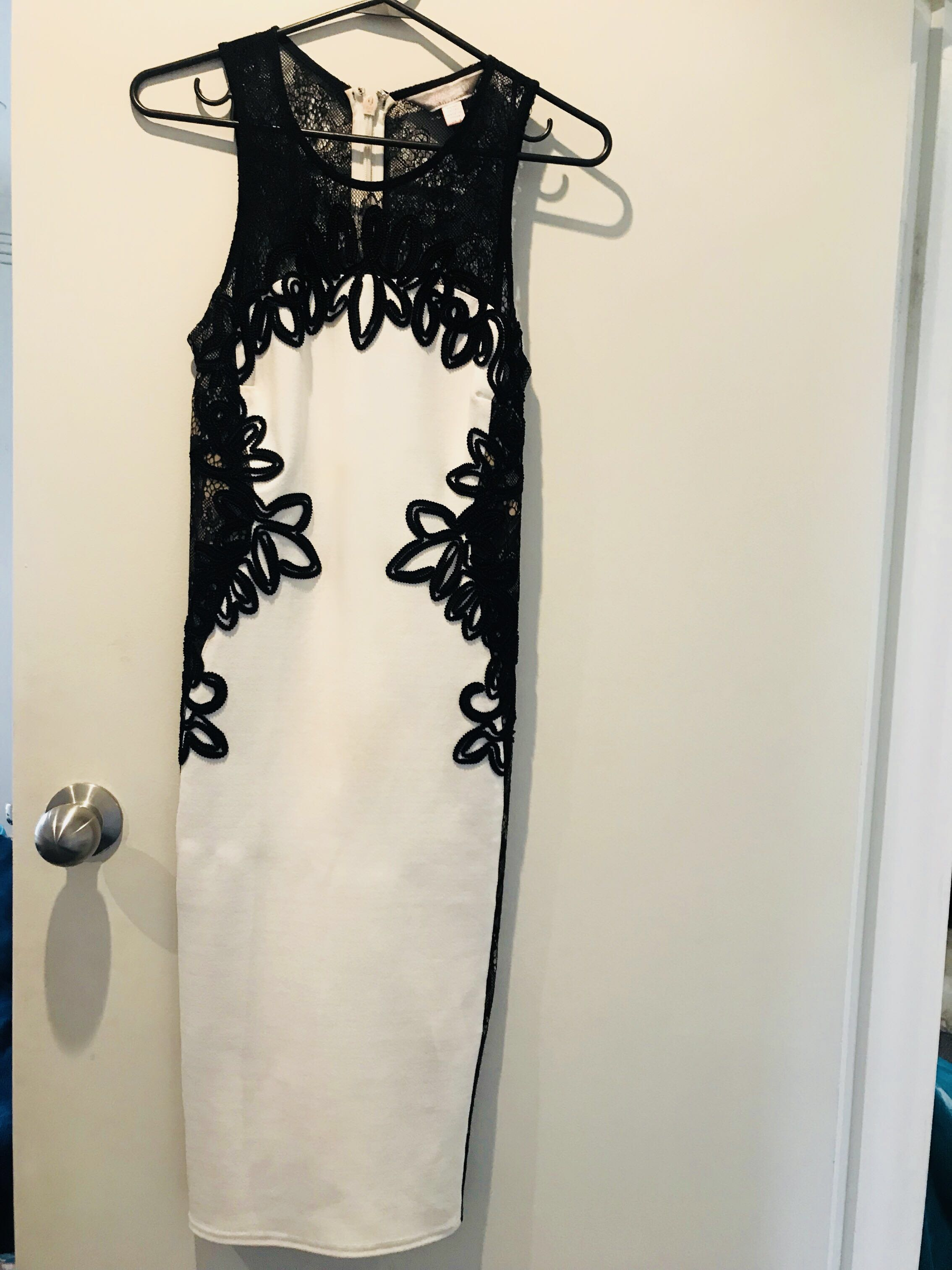 fd037ecda72 Lipsy black   white party dress