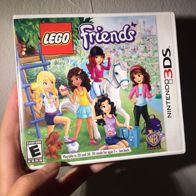 Nintendo Lego Friends 3ds Toys Games Video Gaming Video Games