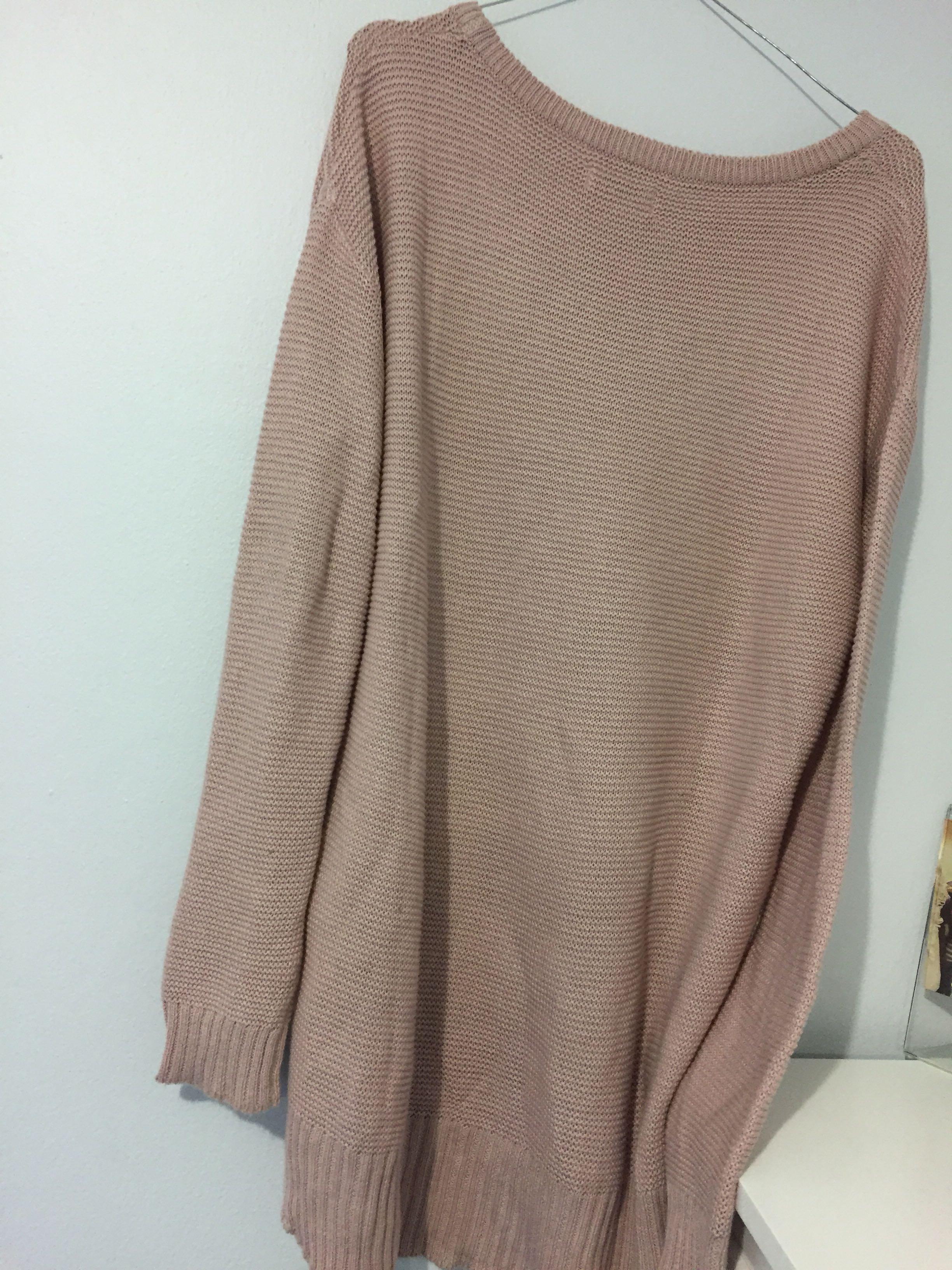 Pale Pink Knit Jumper