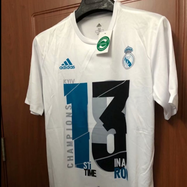 22d2da3a5 (PO) Real Madrid 13 Time Champions Shirt