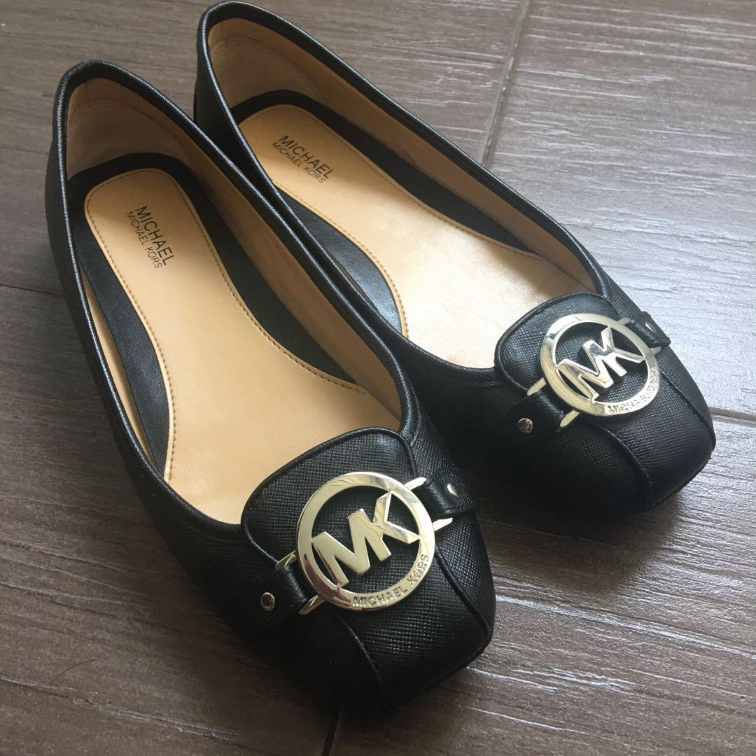 MICHAEL KORS BLACK Flats from MK USA