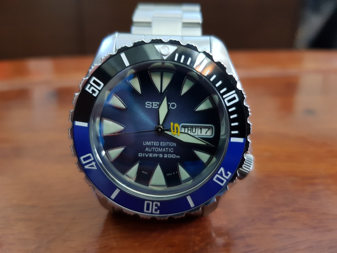seiko skx mod one of a kind special mod luxury watches on carousell