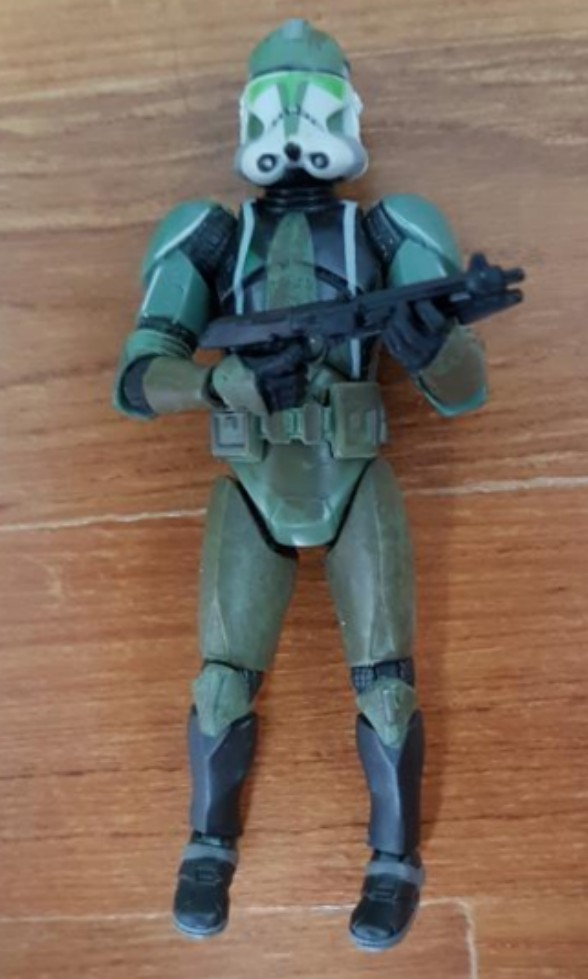 Star Wars Clone Commander Gree, Toys & Games, Bricks