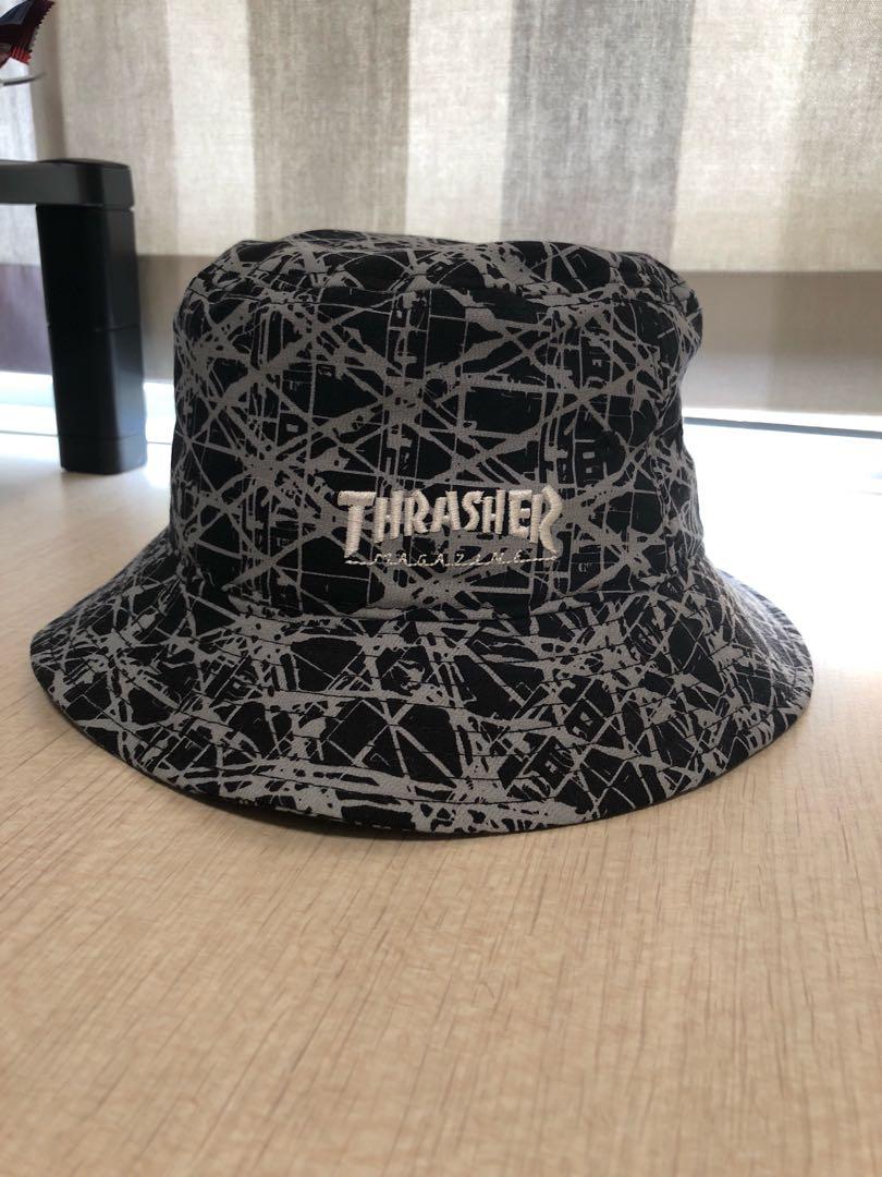 3f6934e5c7f Thrasher bucket hat