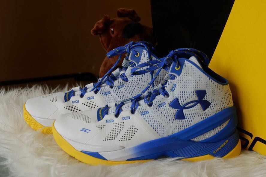 the best attitude 29353 4a4b8 UA Curry 2 Home Colourway White US 9