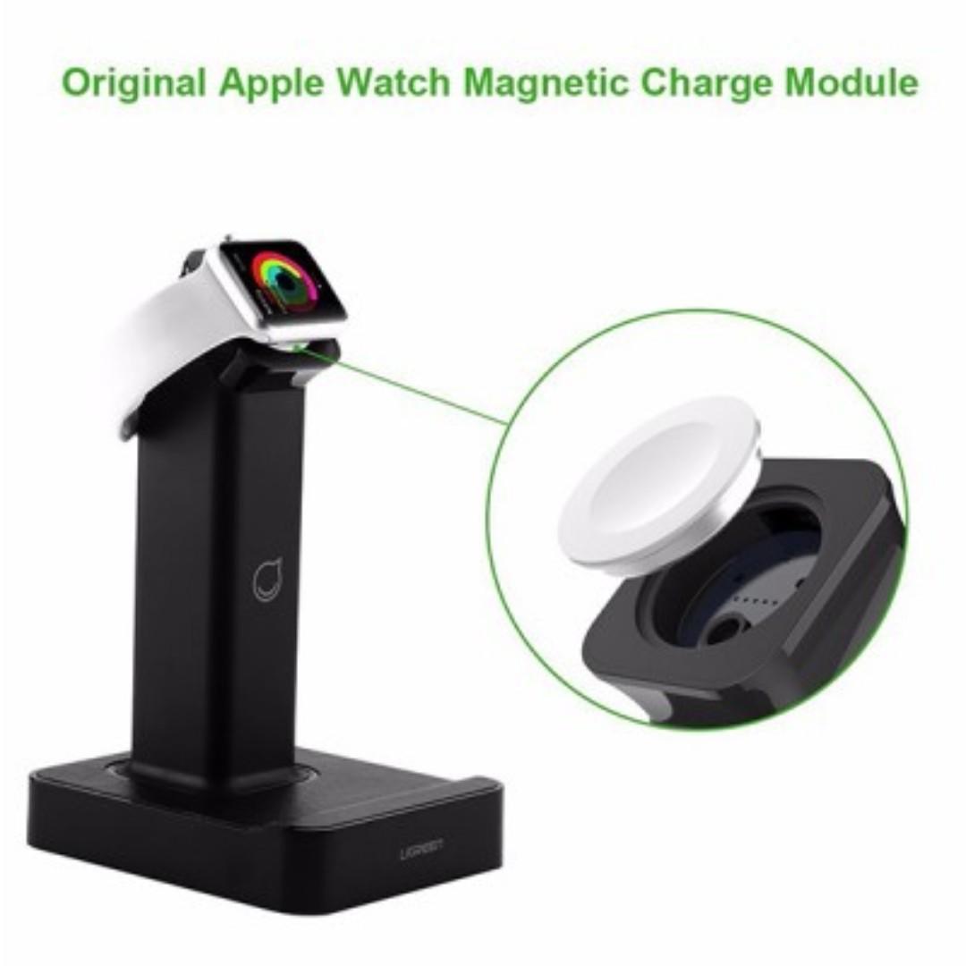 UGREEN Apple Watch Magnetic charging Dock Black Popular Item!) 30361