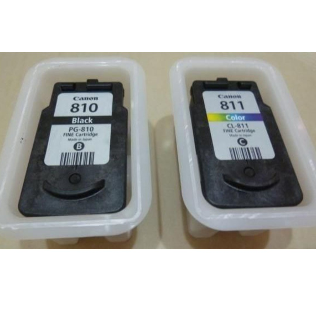 Used Canon Ink Cartridge Pg 810 Cl 811 Looking For On Carousell Color