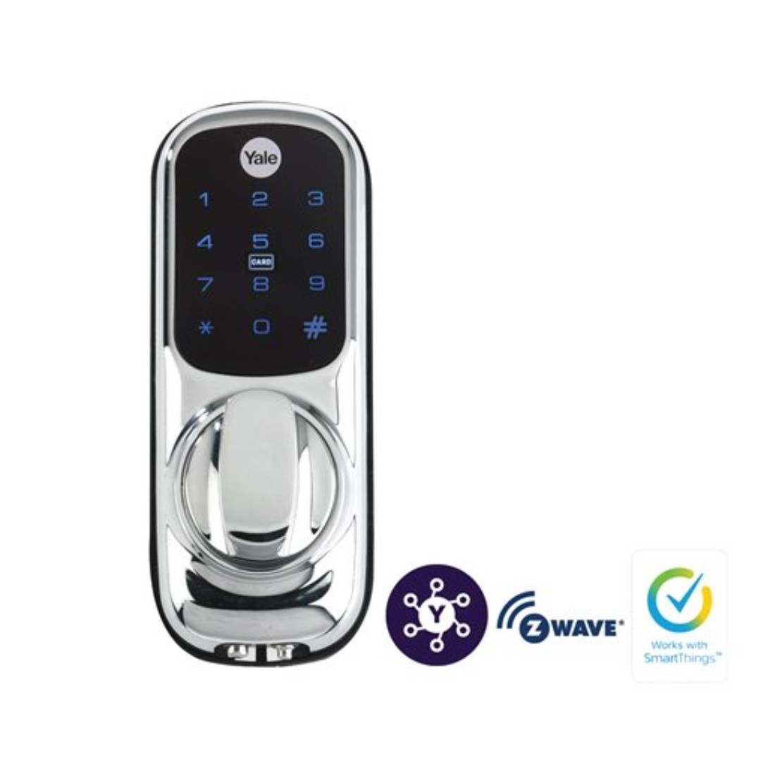 Yale Keyless Smart Lock with Z-Wave Module, compatible with smartthings