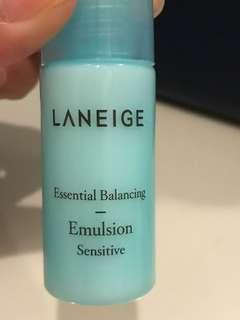NEW: Laneige Emulsion Sensitive 15ml