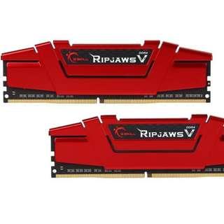 G.Skill RipJaw V 8gb RAM (4gb x 2) 2400MHz