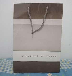 Paperbag charles n keith
