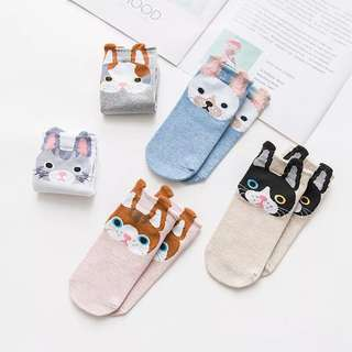 korean foot socks