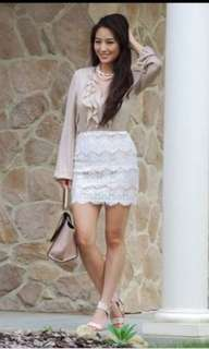 💯 Authentic Forever21 Lace Skirt