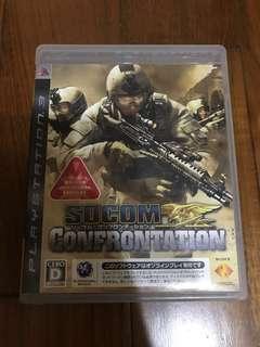 🚚 ps3遊戲片 SOCOM  Confrontation 美國海豹特遣隊 線上版