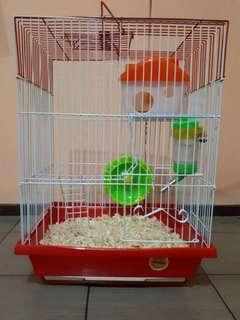 Kandang hamster/sugar glyder/landak mini dll
