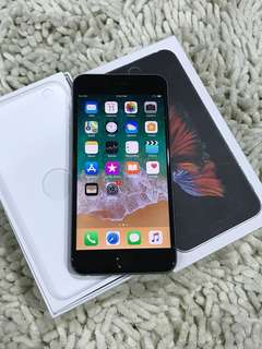 IPhone 6s Plus 64gb space grey full set