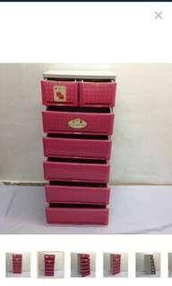 Orocan (Plastic Drawer) Color Pink!