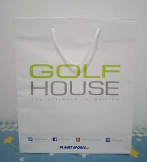 Paperbag golf house