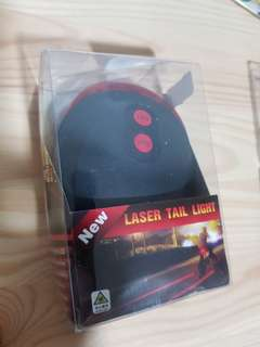 Bicycle Rear Light with laser