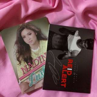 Signed James Reid's Album + Nadine Lustre's Album
