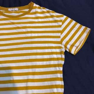 Yellow條紋T